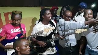 Live performance of alex kasau katombi and maima