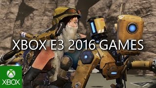 Xbox One - E3 2016 Games Montage
