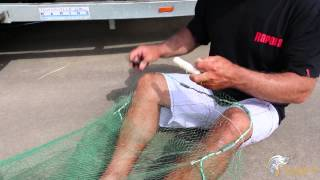 How to repair your cast net