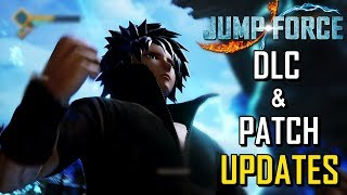 Jump Force DLC Release Date and Patch Updates