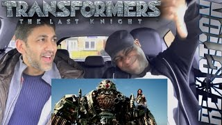 Transformers 5: The Last Knight Trailer #2 REACTION!