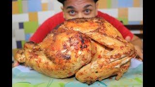 #تحدى اكل اكبر ديك رومي مشوي بوزن 8kg اتحدك تصدق اللى هتشوفة 8kg Challenge eating a turke
