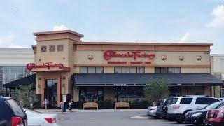 Lunch at The Cheesecake Factory Lexington, Kentucky