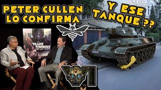 NOTICIAS Transformers 6 SPIN OFF BUMBLEBEE - Peter Cullen