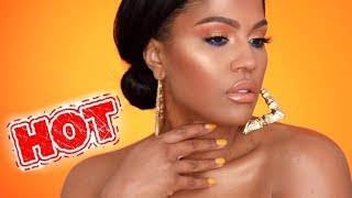 Heat Up The SUMMER - BRONZE GLOWY Makeup | MakeupShayla