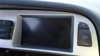How to Remove Display / Speedometer Cluster from 2008 Audi A6 for Repair.