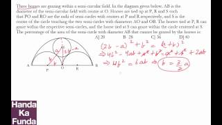 CAT 2015 Exam Online Coaching Preparation Material - Geometry - Handa Ka Funda (C03GE05)