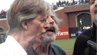 Furthur ~ Jerry Garcia Day ~ The National Anthem  8-9-10 (Phil Lesh,  Bob Weir & Jeff Pehrson)