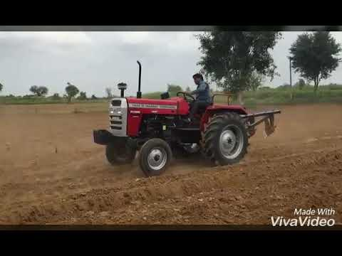 7250 power up 50hp Tafe tractor running on successfully in Rajasthan