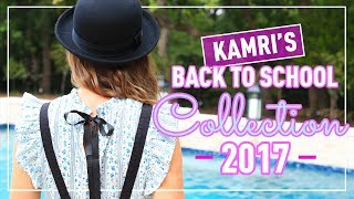 5 Perfect Outfits for Back to School 2017 | Kamri Noel