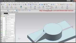 Siemens Nx Training Tutorial | UG Nx CAD Tutorial | How to create Rib / Stiffener in Nx