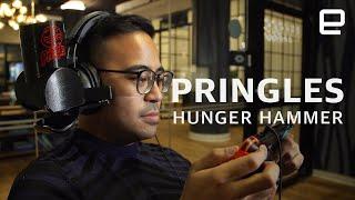 "Pringles Hands Free ""Hunger Hammer"" hands-on"