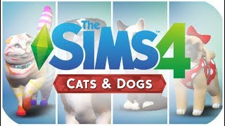 CREATE A PET | THE SIMS 4 // CATS AND DOGS GAMESCOM REACTION