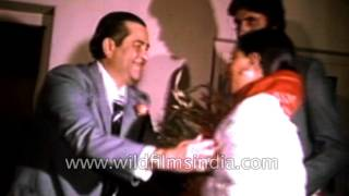 Bollywood Celebrity Party with the Kapoors in 1980