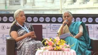 Anita Desai & Supriya Chaudhuri at Kalam 2017