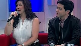 Startalk: Regine Velasquez and Alden Richards live!