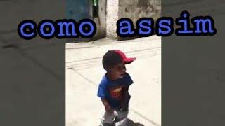 Criança dançando passinho dos maloca😎