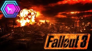 INSIDE MEGATON DURING NUKE!   Fallout 3  