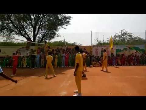 Xxx Mp4 City Model High School Hayatnagar Sports Carnival Day Volleyball Playing 3gp Sex