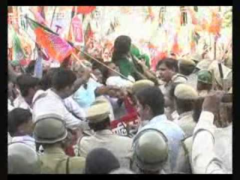 Xxx Mp4 Smriti Irani Clashes With Police Rioting In Rohtak Haryana 3gp Sex