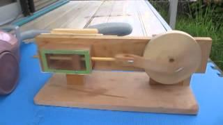 Wood air engine