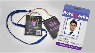 How to Design a Corporate ID Card - Illustrator Bangla Tutorial