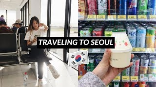 Flight to Seoul South Korea + lost mum at Airport [Korea Ep.1]