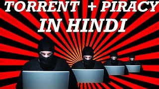 Hindi | what is a torrent in hindi | piracy is good ?