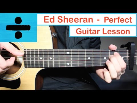 Download Ed Sheeran - PERFECT | Guitar Lesson (Tutorial) How to play Chords free