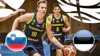 Slovenia v Estonia - Full Game - FIBA U20 European Championship Division B 2018