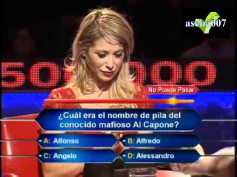 Fail de Yamna Lobos en quien quiere ser millonario alta tension VIP