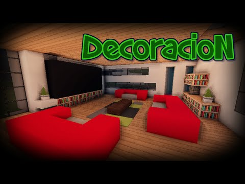 Como decorar tu habitaci n en minecraft vidoemo for Como decorar una habitacion