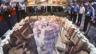 Kurt Wenner #1 3D street paintings