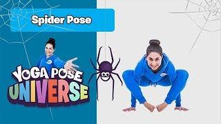 Spider Pose   The Cosmic Kids Yoga Pose Universe!