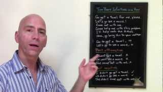 Using Two Bare Infinitives in a Row (ESL grammar lesson)