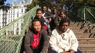 COP21: les Pacific Warriors à Paris