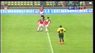 1998 (May 31) Luxembourg 0- Cameroon 2 (Friendly)