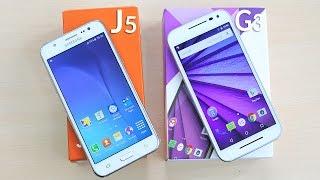 Moto G3 3rd Gen & Samsung Galaxy J5 Unboxing & Overview