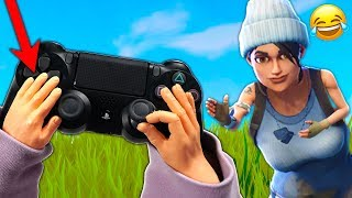 Playing Fortnite With TINY HANDS Challenge (Fortnite Battle Royale)