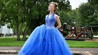 ALL MY OLD PROM DRESSES!