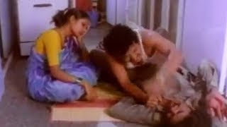 Girl allows Man to Sleep without Touching - Hindi Dubbed Movies | Comedy Scene 11/16 | Anadi Khiladi