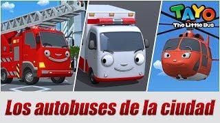 Conocer a los amigos de Tayo  l El equipo de rescate l Tayo el pequeño Autobús