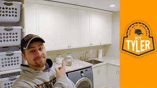 Laundry Room Cabinets | EPIC Room Reveal!