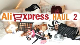 AliExpress Haul 2 ( Huda Beauty, Morphe, Zoeva, Laura Mercier, ABH   Demiana Acis