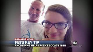 FBI tip helps locate missing teen