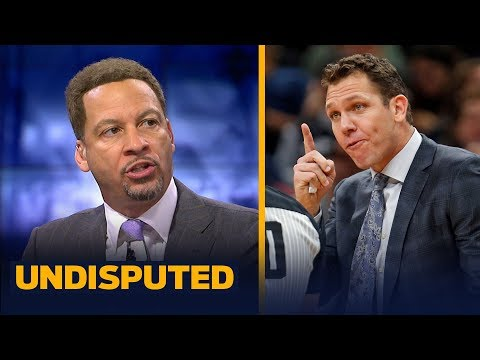 Chris Broussard analyzes the Lakers and says Luke Walton is on the hot seat NBA UNDISPUTED