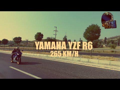 YAMAHA YZF R6 265 KM HIZLA GEÇİŞ