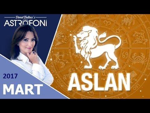 ASLAN Burcu MART 2017 Astroloji ve Burç Yorumu