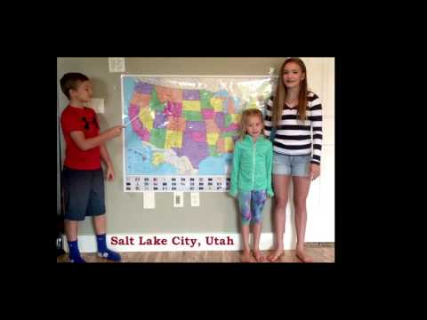 watch Western United States and Capitals Song