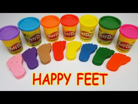 Xxx Mp4 DIY Play Doh Happy Feet Learn Colors Old Macdonald Skip To My Lou Nursery Rhymes 3gp Sex